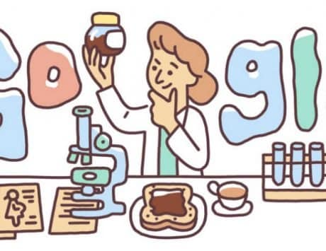 Google honors Lucy Wills with a doodle