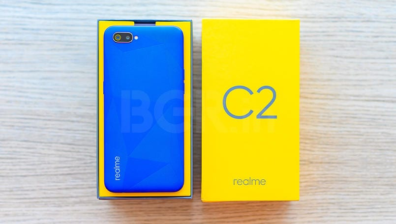 New Realme C2 update brings November 2019 Android security patch and more