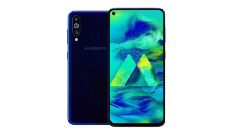 Image result for Samsung M40 With Triple Rear Cameras, 6GB of RAM Launched in India