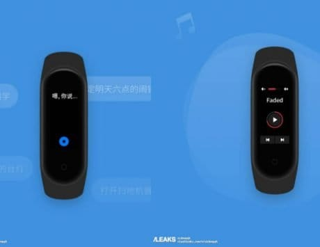 Xiaomi Mi Band 4 leaked renders show color display
