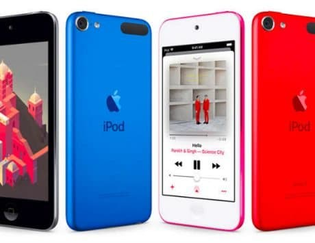 Apple iPod touch powered by A10 Fusion SoC launched