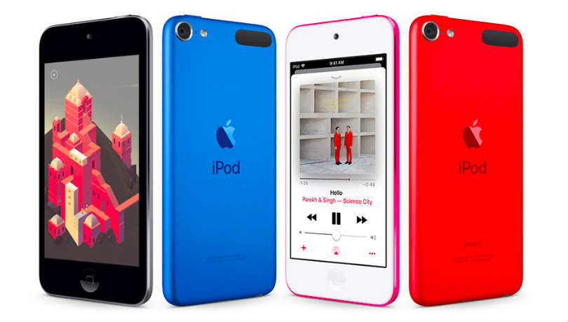 online store f6224 9fb0d Apple iPod touch with A10 Fusion SoC, up to 256GB storage launched ...