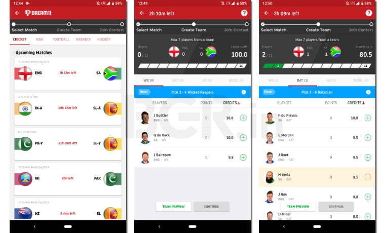 ICC Cricket World Cup 2019: How to play Dream11, earn points