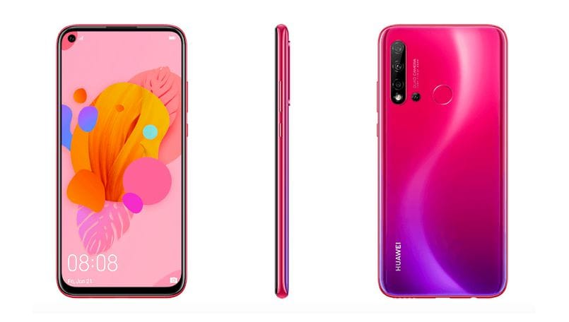 Huawei P20 Lite 2019 leak reveals quad-camera setup, punch-hole display