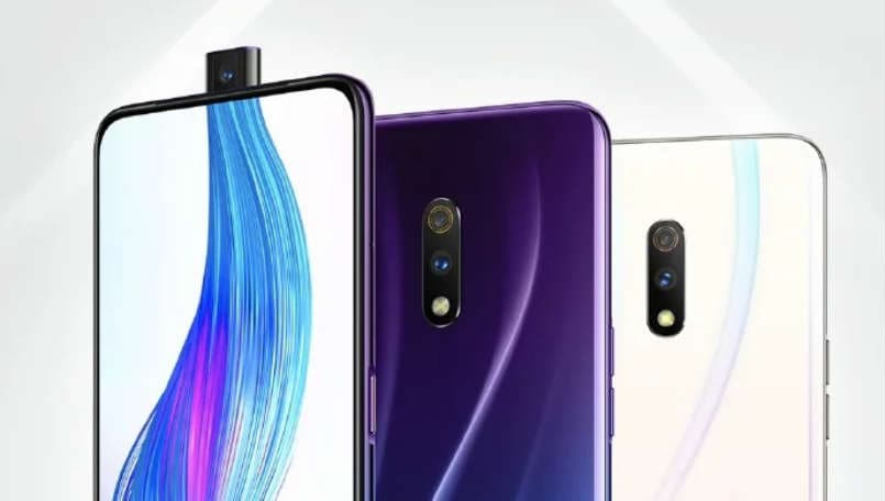 Realme X with pop-up selfie camera and in-display fingerprint sensor appears in poster ahead of launch