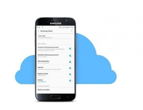Samsung Cloud storage will be reduced to 5GB