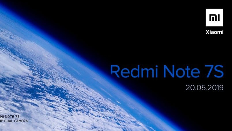 Xiaomi Redmi Note 7S with 48MP camera to launch in India on May 20