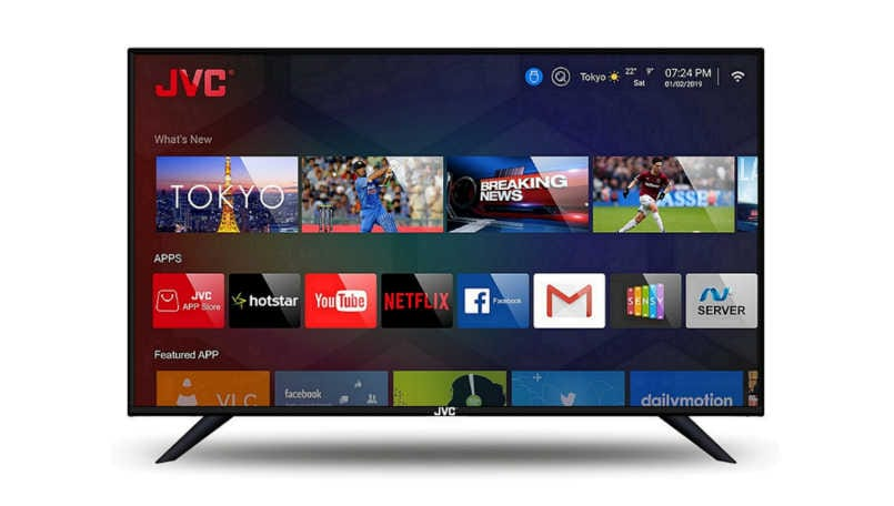 JVC launches 6 new Smart LED TV in India; prices start from Rs 11,999