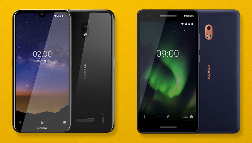 Nokia 2.2 vs Nokia 2.1: What's different