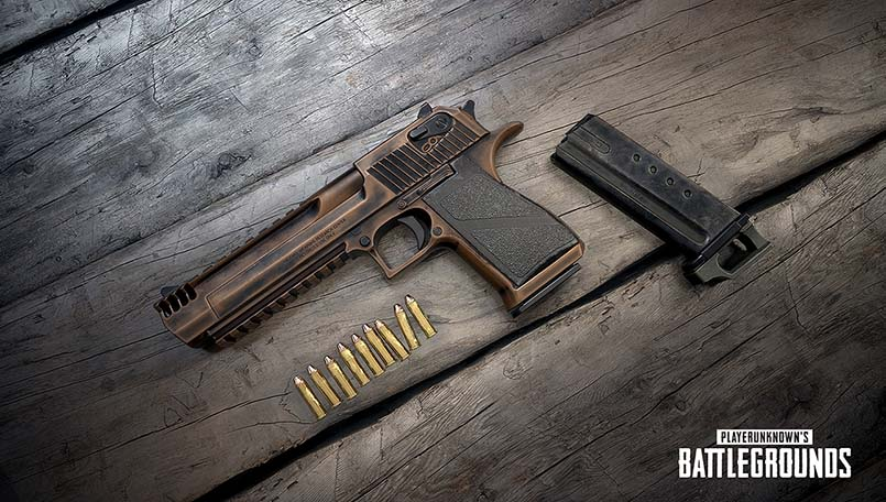 Desert Eagle handgun is coming to PUBG Mobile soon