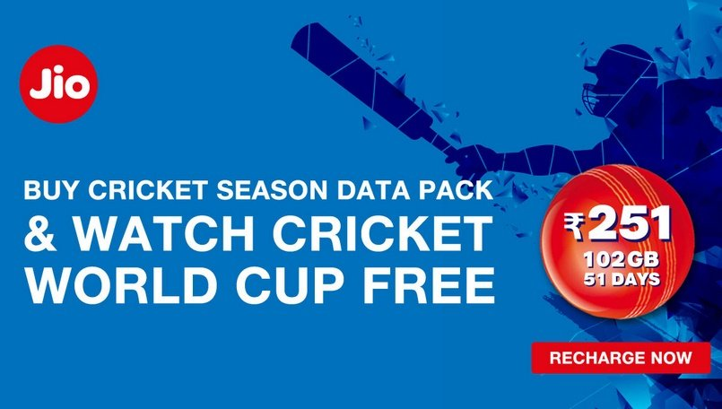 Icc Cricket World Cup 2019 Reliance Jio Now Allows Users To