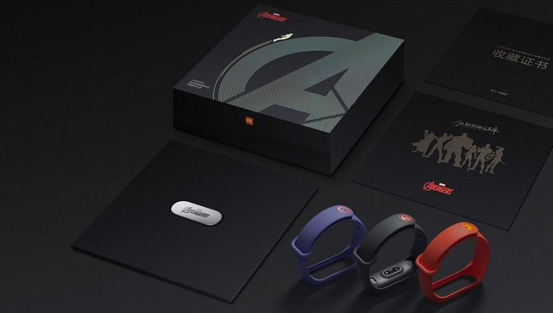 Xiaomi Mi Band 4 Limited edition Avengers
