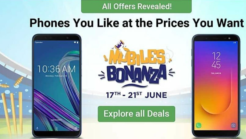 Flipkart Mobile Bonanza Sale starts June 17: Offers, discounts on Xiaomi, Honor, Realme, Samsung and more