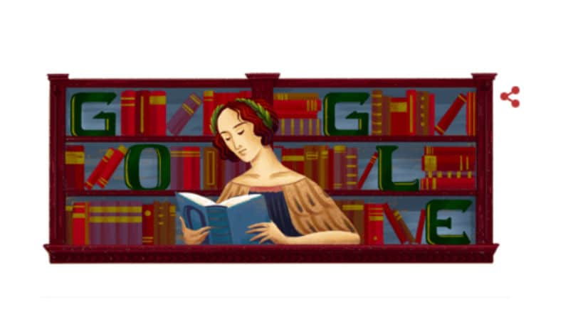 Elena Cornaro Piscopia's 373rd birthday with a Google Doodle