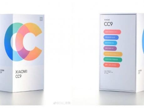 Xiaomi Mi CC9 retail box images leaked