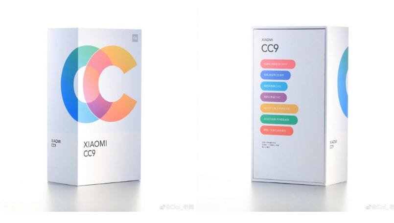 Xiaomi Mi CC9 retail box images leaked; company teases more camera samples