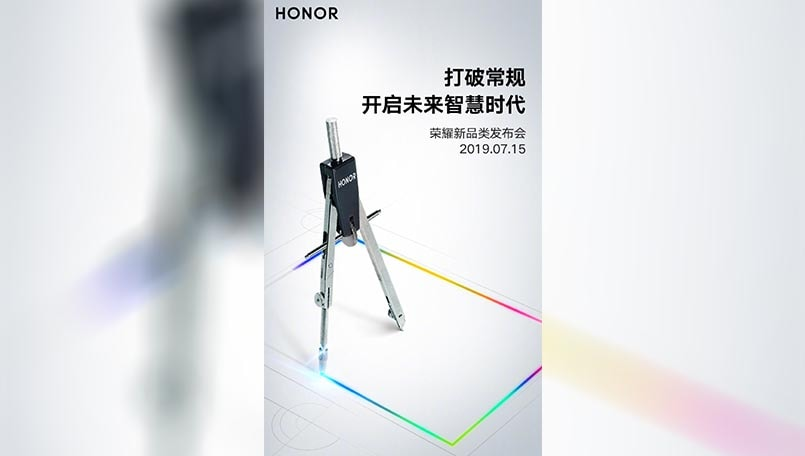 Honor TV launch teased for July 15 with Honor Magicbook