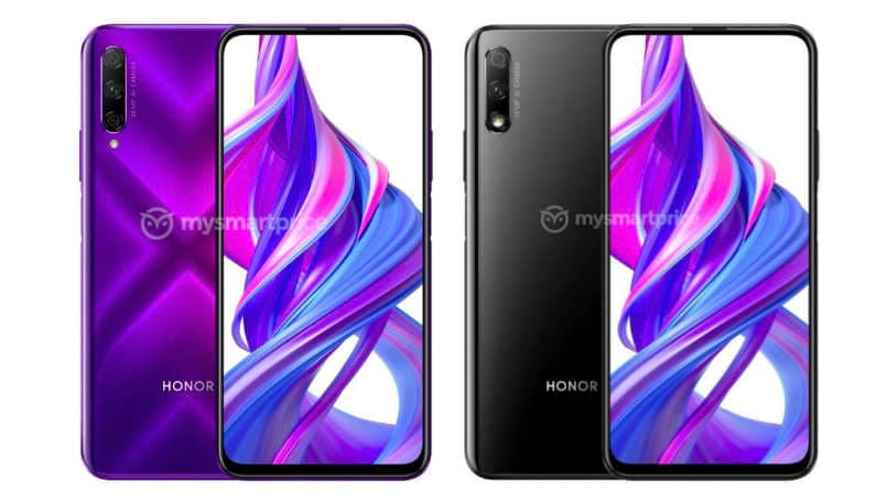 Honor 9X, 9X Pro leaked renders show notch-less display, pop-up selfie camera and more