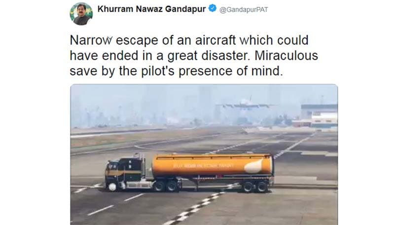 Pakistan minister confuses GTA V video for real life | BGR India