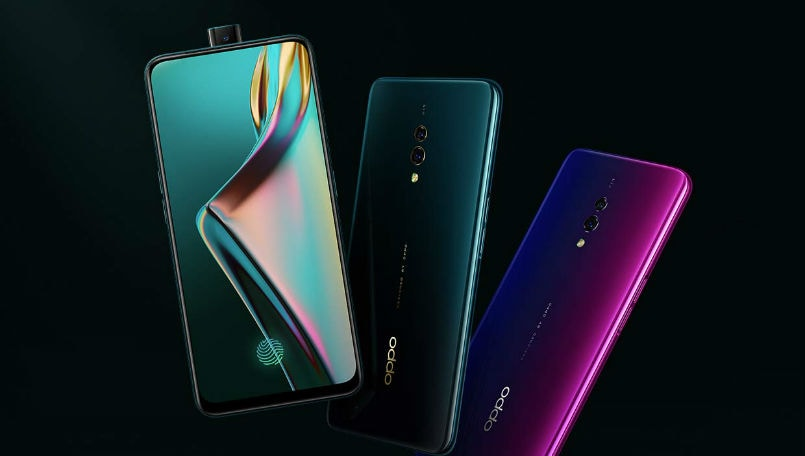 Oppo K3 with Snapdragon 710 SoC, pop-up selfie camera launch today: Price in India, specifications and features