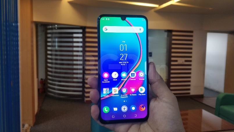 Tecno Phantom 9 First Impressions: Triple cameras, in-display fingerprint sensor and more