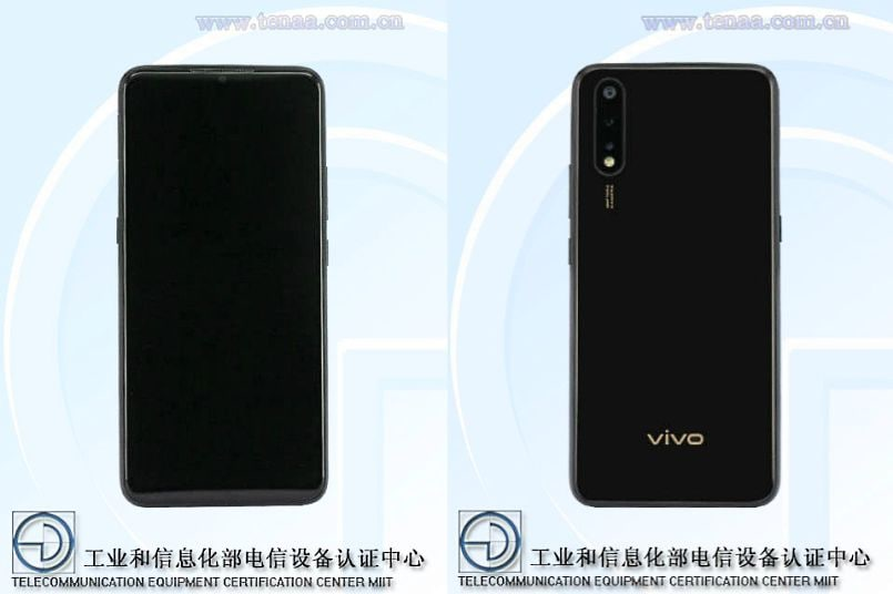 Vivo V1921A with 48MP camera, 22.5W fast charging listed on TENAA; Images, specifications revealed