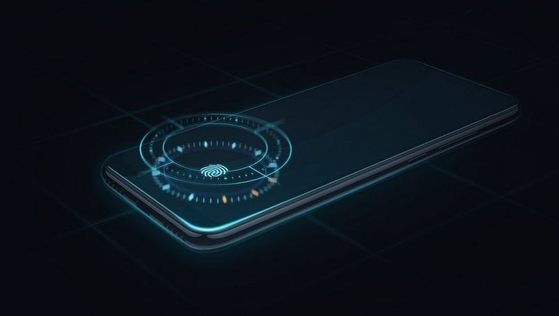 Xiaomi Mi A3 under-display fingerprint scanner