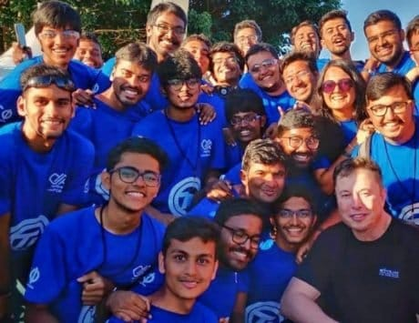 Elon Musk left impressed by IIT Madras students' HyperLoop Pod