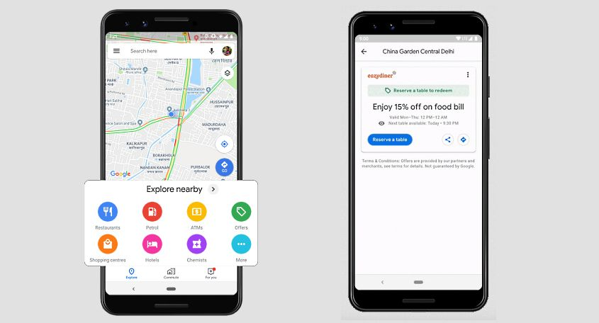 Google Maps adds 3 new 'India-inspired' features; brings offers, deals and redesigned Explore tab