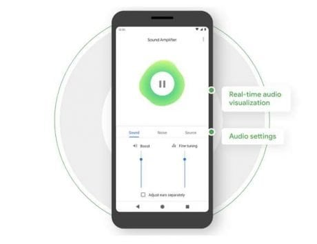 Google Sound Amplifier app now available for older smartphones