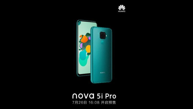 Huawei Nova 5i Pro confirmed to launch on July 26; teaser video out