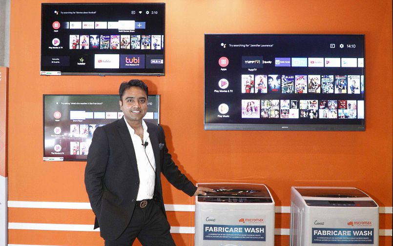 Micromax launches Android TV lineup, washing machine in India