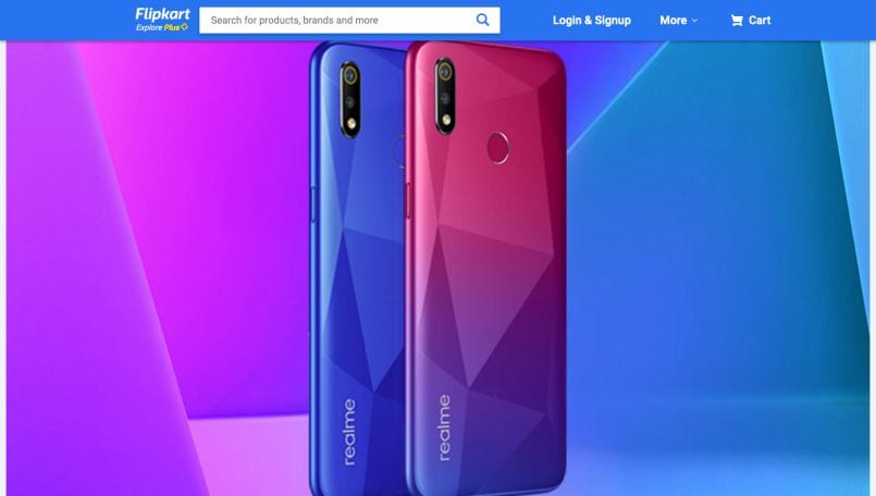 Realme 3i key specifications, design revealed on Flipkart; launch confirmed for July 15