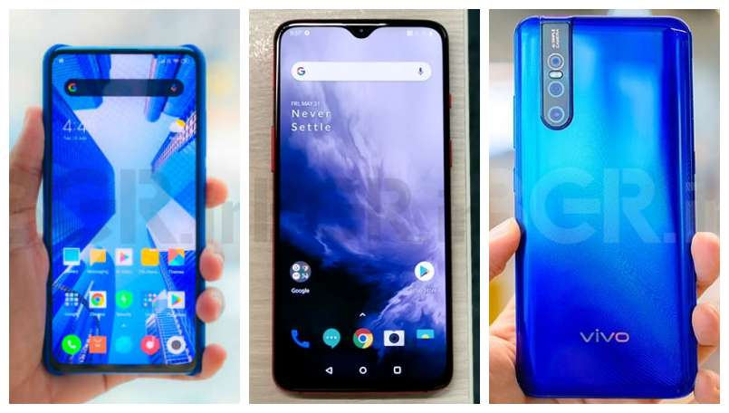 Xiaomi Redmi K20 Pro vs Vivo V15 Pro vs OnePlus 7: Price in India, features compared