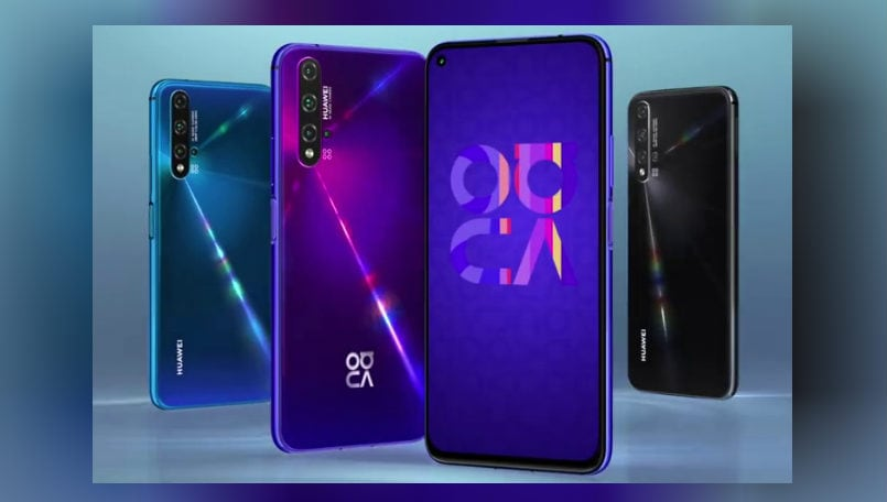 Huawei Nova 5t With 8gb Ram Quad Rear Cameras Launched Specs