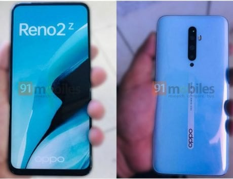 Oppo Reno 2Z live images leaked ahead of August 28 launch
