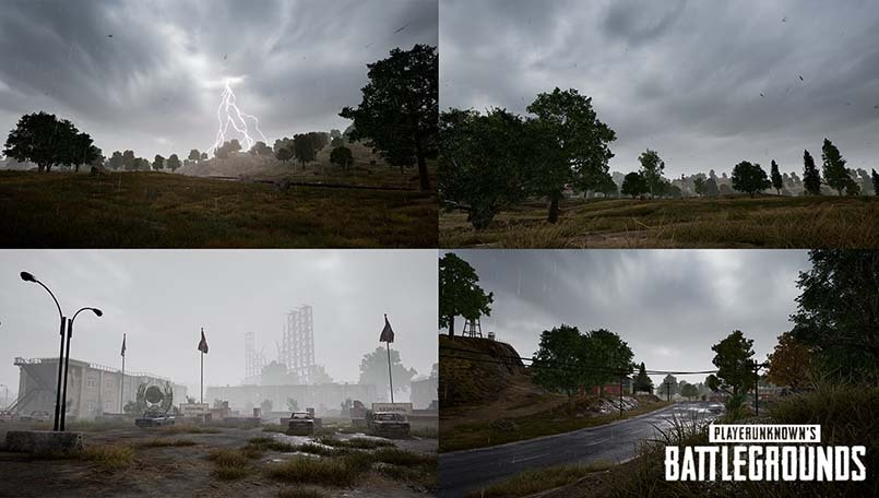 PUBG update 4.2 out with dynamic weather, destructible objects
