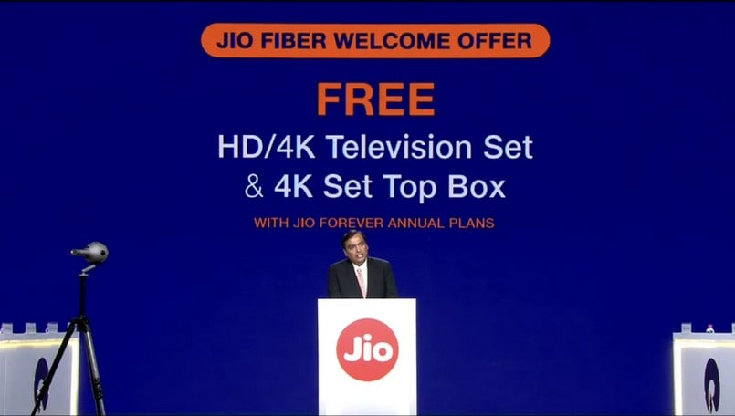 Reliance JioFiber Welcome Offer announced: All you need to know