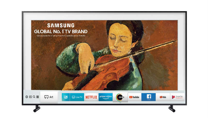 Samsung Smart LED TVs, 4K HDR 'The Frame' Smart TV launched in India