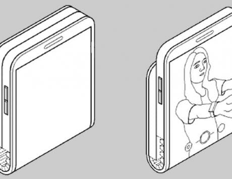 Samsung patent hints at a smartphone that folds vertically