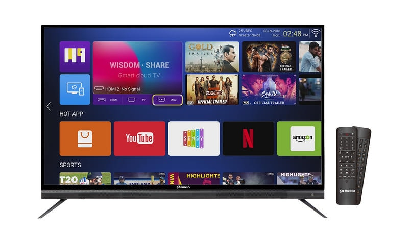 Shinco Smart LED TV series discounted by up to Rs 5,000 | BGR India