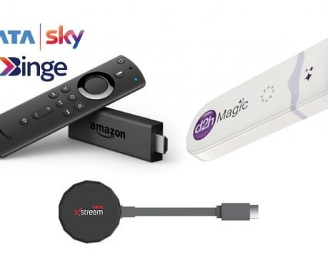 Tata Sky Binge vs Airtel Xstream Stick vs d2h Magic