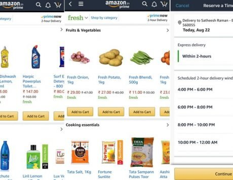 'Amazon Fresh' service launched for groceries