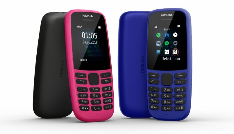 Nokia 105 (2019) feature phone with all-day battery launched in India: Price, features