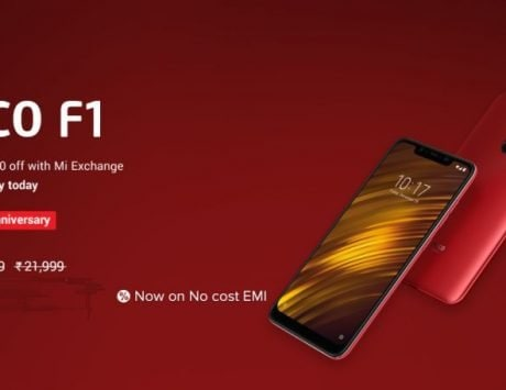 Xiaomi Poco F1 'Happy 1st Anniversary' offer