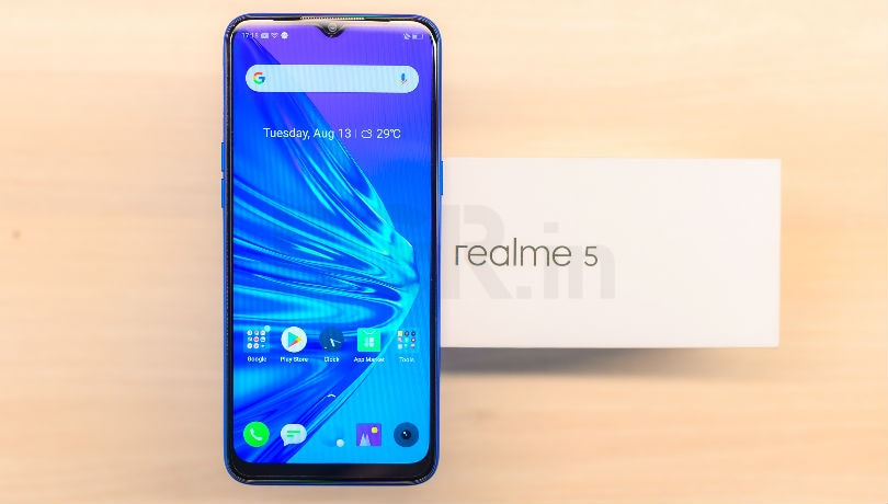 Realme 5 to go on flash sale today at 12PM: Price, offers and all you need to know