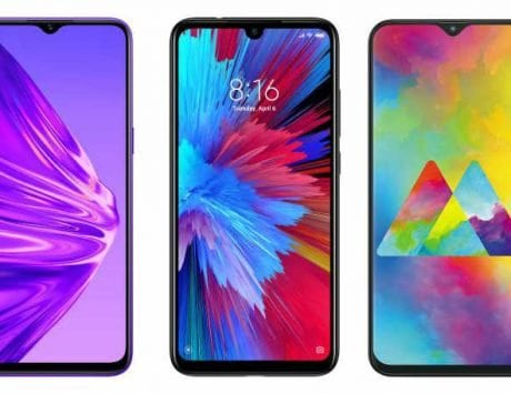 Realme 5 vs Xiaomi Redmi Note 7S vs Samsung Galaxy M20