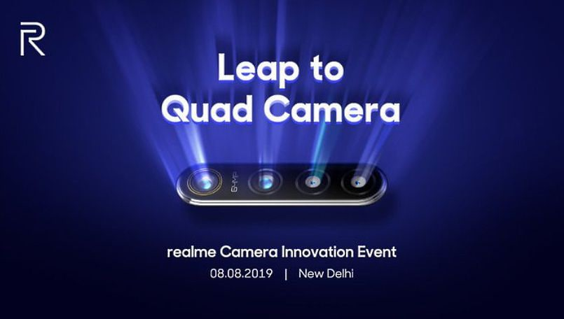 Realme 5 might be Realme's first smartphone with 64-megapixel camera