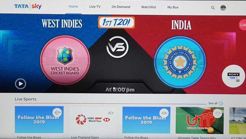 How Tata Sky subscribers can watch uninterrupted cricket