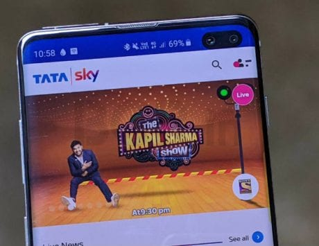 Tata Sky mobile app competes with JioTV; offers 400 live TV channels